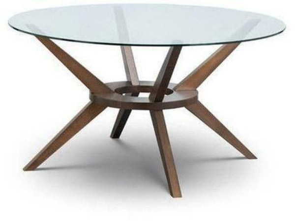 Chelsea Large Glass Top Table (140cm Diameter)