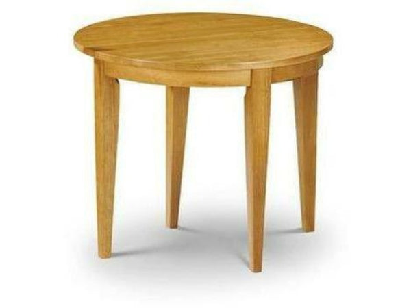 Consort Table (90cm Diameter) and Flap Honey