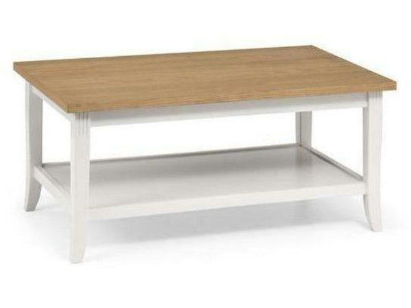 Davenport Ivory/Oak Coffee Table