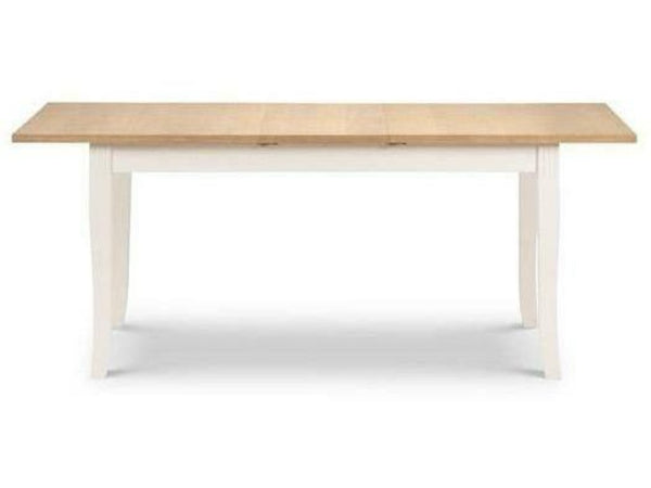 Davenport Ivory/Oak Extending Dining Table
