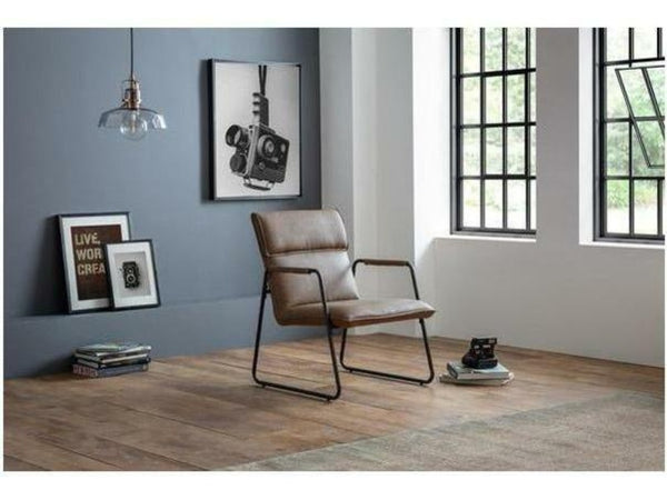 Gramercy Brown Accent Chair