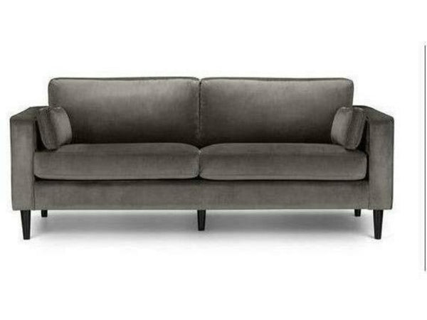 Hayward Grey Velvet Medium 2 Seater Sofa
