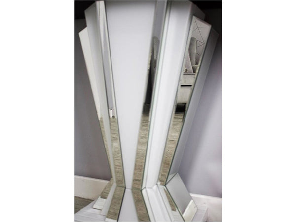 Bianco White fan console table