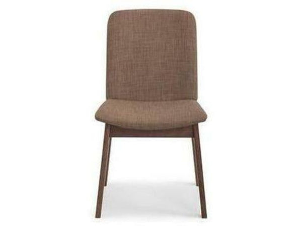 Kensington Walnut Fabric Dining Chair (Pack Of 2)