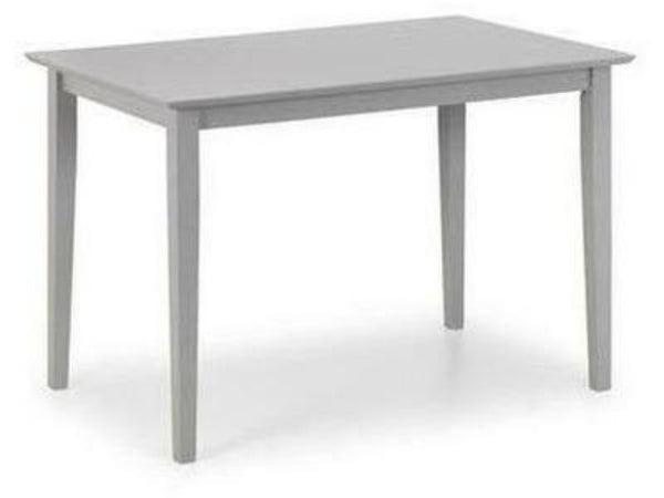 Kobe Lunar Grey Lacquer Dining Table (120cm x 80cm)
