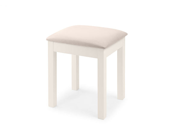 Maine Dressing Stool - Surf White
