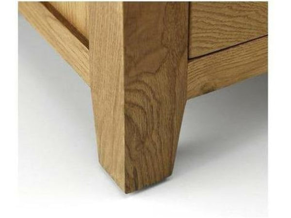 Marlborough Oak Single Pedestal Dressing Table Ass