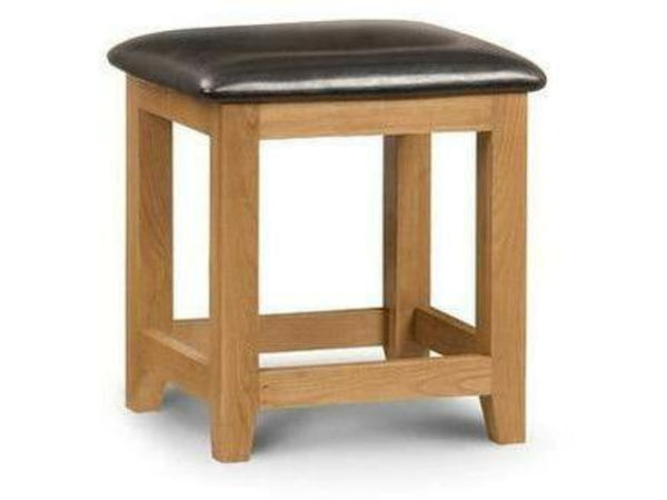 Marlborough Oak Dressing Stool Ass