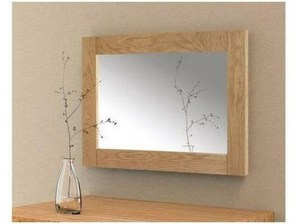 Marlborough Waxed Oak Wall Mirror