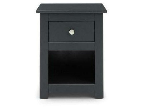 Radley 1 Drawer Bedside - Anthracite
