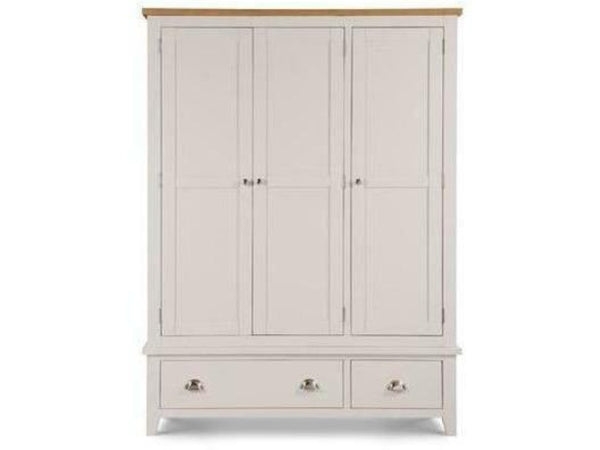 Richmond 3 Door 2 Drawer Wardrobe Elephant Grey
