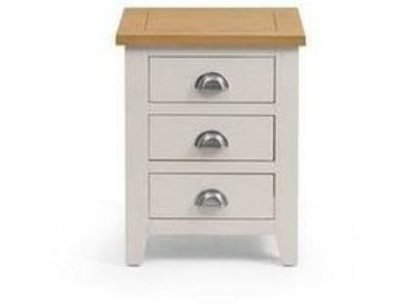 Richmond 3 Drawer Bedside Elephant Grey