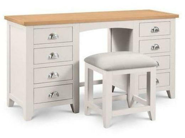 Richmond Dressing Table Stool Elephant Grey
