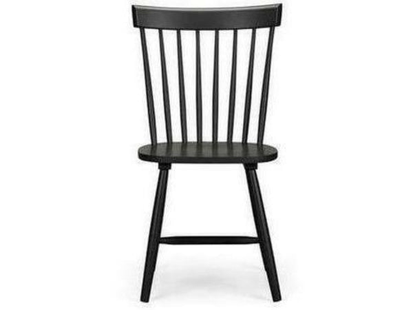 Torino Black Lacquer Chair (Pack Of 2)