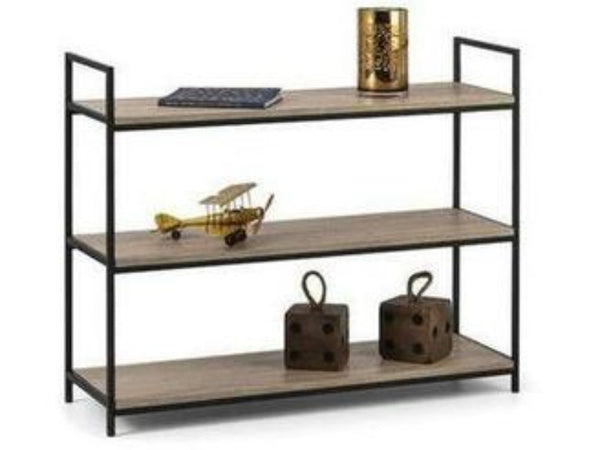 Tribeca Low Bookcase Sonoma Oak