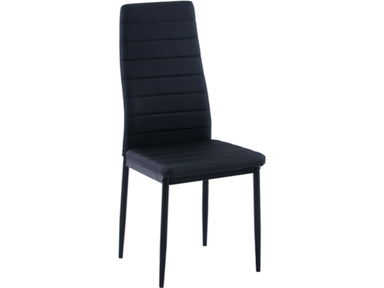 Vegas Black PU Dining Chair Set of 4