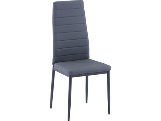 Vegas Grey PU Dining Chair Set of 4