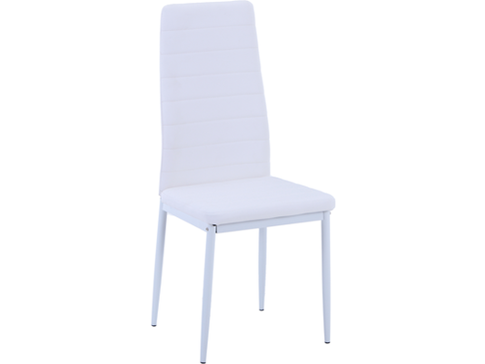 Vegas White PU Dining Chair Set of 4