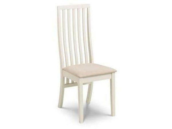 Vermont Dining Chair Ivory (Pack Of 2)