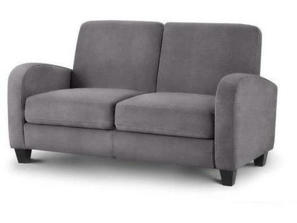 Vivo 2 Seater Sofa - Dusk Grey Chenille Fabric