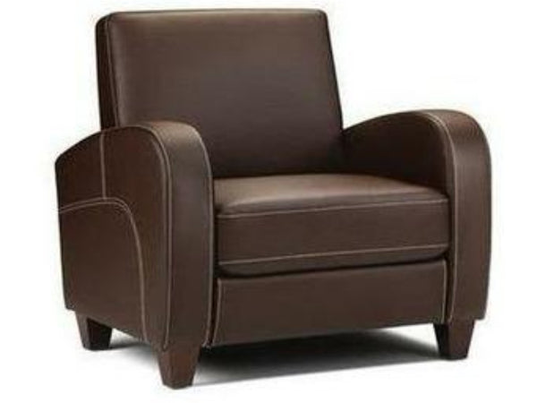 Vivo Chair Chestnut Faux Leather
