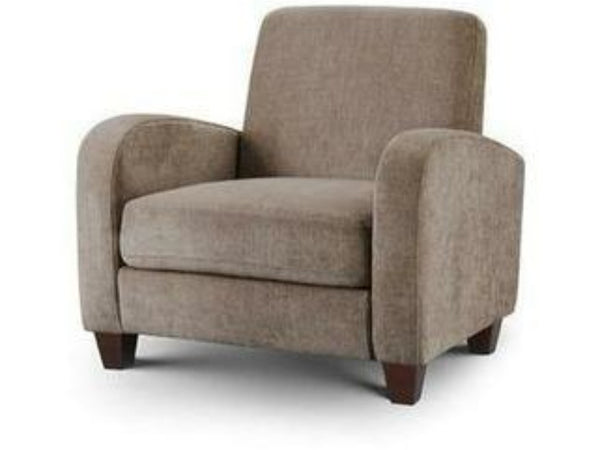 Vivo Chair Mink Chenille Fabric