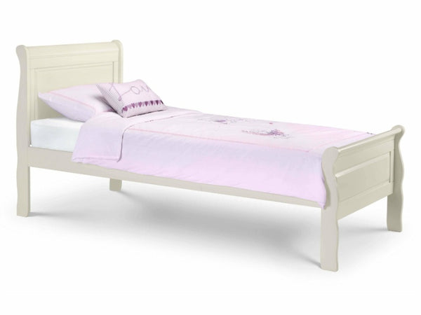 Amelia Sleigh Bed 90cm