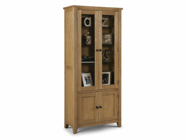 Astoria Glazed Display Cabinet Assembled