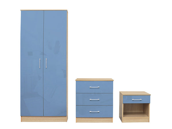 Dakota Bedroom Set Blue
