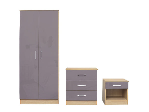 Dakota Bedroom Set Grey