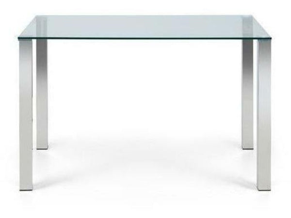 Enzo Glass Top Dining Table
