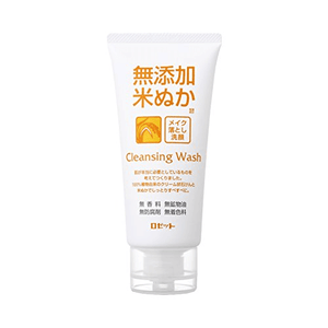 Rosette Additive-free Rice Bran Makeup Remover Facial Cleansing Foam 120g
