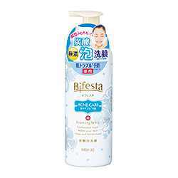 (Quasi-drugs) 《Mandom》 Bifesta Foaming Face Wash Control Care 180g (Foaming Face Wash)