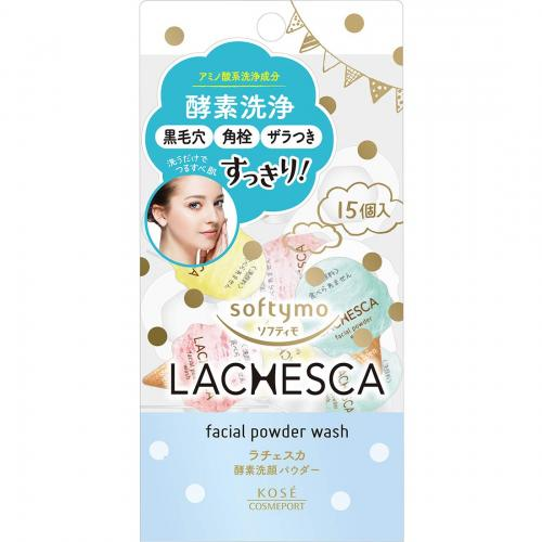 Softymo Lachesca Powder Wash 0.4gX15 pcs