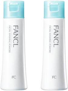 FANCL Facial Cleaning Powder  2sets, 1.8 oz (50 g) x 2, Approx. 60 Day Supply