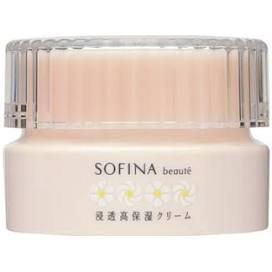 Kao Corporation SOFINA beaute penetrating high moisturizing cream 50g
