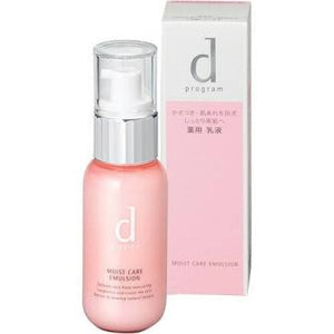Shiseido d program Moist Care Emulsion R 100ml