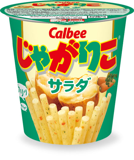 Jagariko Calbee salad flavors, potato chips, Japanese snacks -jagarico