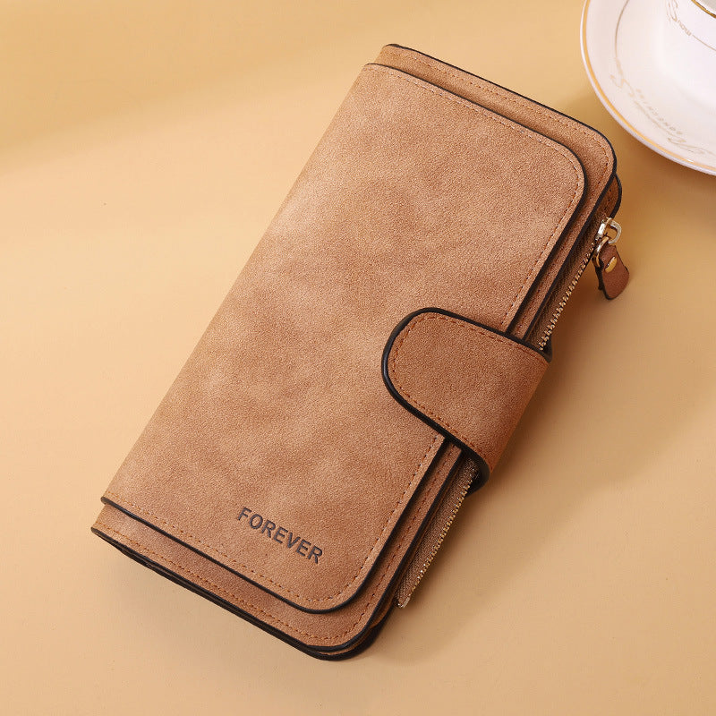 Three-fold Multi-function Ladies Wallet