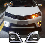Corolla Daytime Running Lights New Corolla Special LED Daytime Running Light Fog Light Modification LED