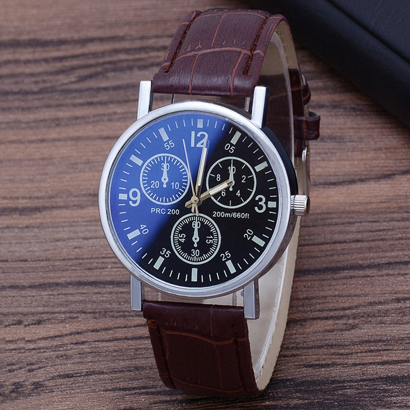 Explosion Quartz Watch Dual Calendar Waterproof Men's Watch