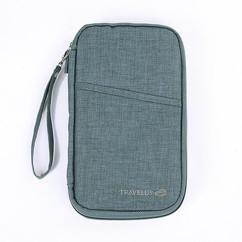 Multi-function Travel Passport Hanging Holder Bag