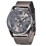 Stylish Stainless Steel Strap Men Watch