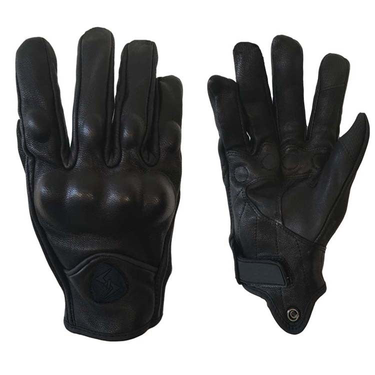 Leather gloves motorcycle racing gloves bike riding gloves off-road windproof warm gloves-Alibaba