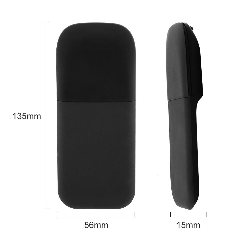 Silent Bluetooth 4.0 Mouse with Bag Wireless Arc Touch Mice Ultra Thin Gaming Foldable Mouse For Microsoft Laptop PC