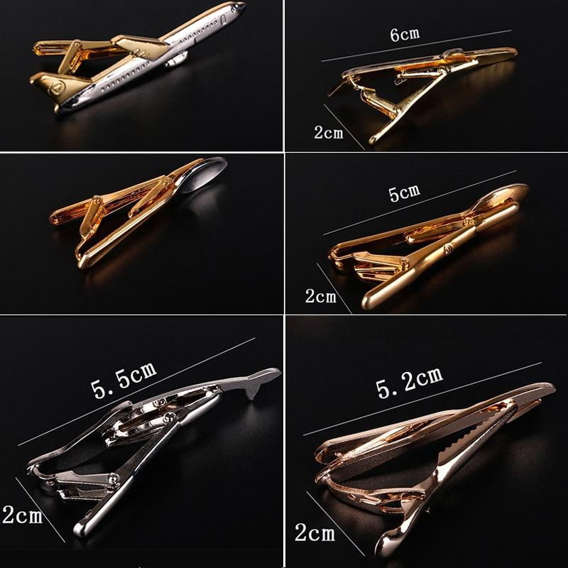 Men Tie Clips Cufflinks Cute Shape Tie Bar Wedding Party Pin Jewelry Clip Men Gifts