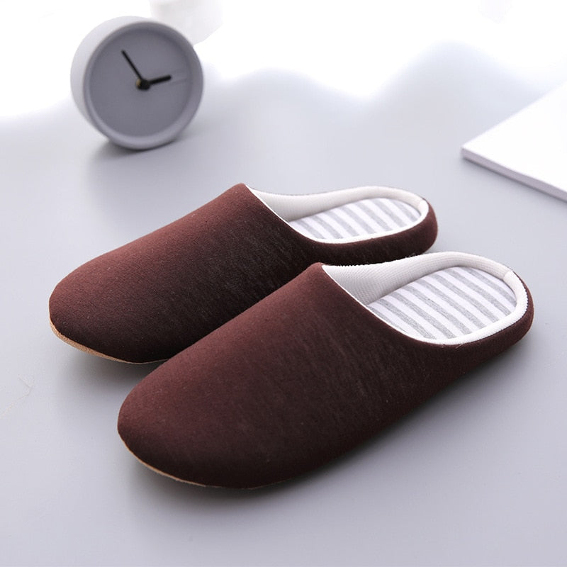 Soft Cotton Plush Warm Cute Home Slippers