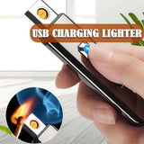 Electric Lighter With USB Rechargeable Great For Candle/Gas Stove/Camping For Cigarette Candle With LED Display