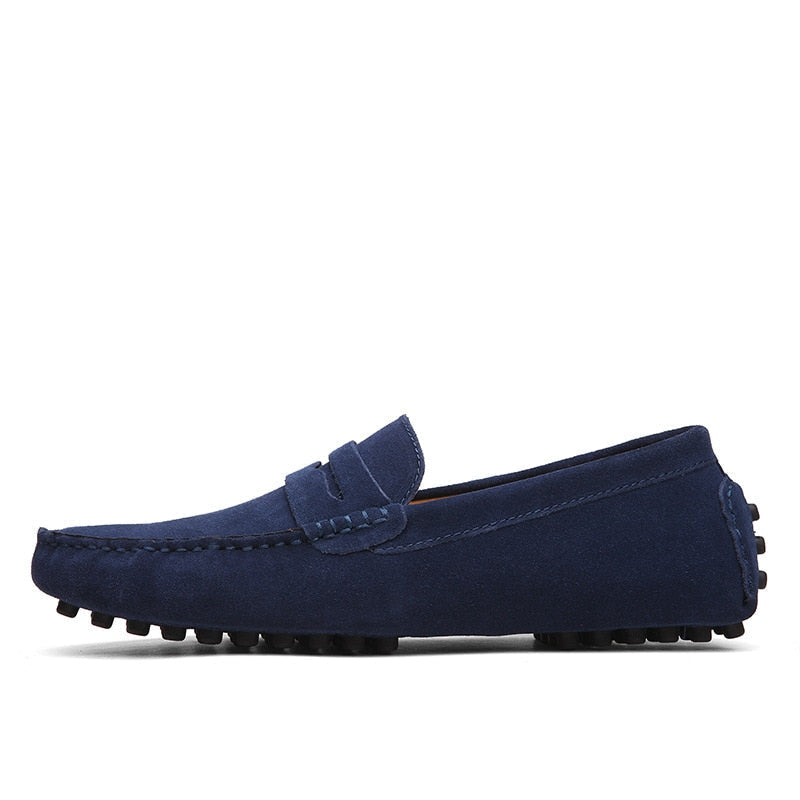 Casual Shoes Fashion Men Shoes Genuine Leather Men Loafers Moccasins Slip On Men's Flats Male Driving Shoes
