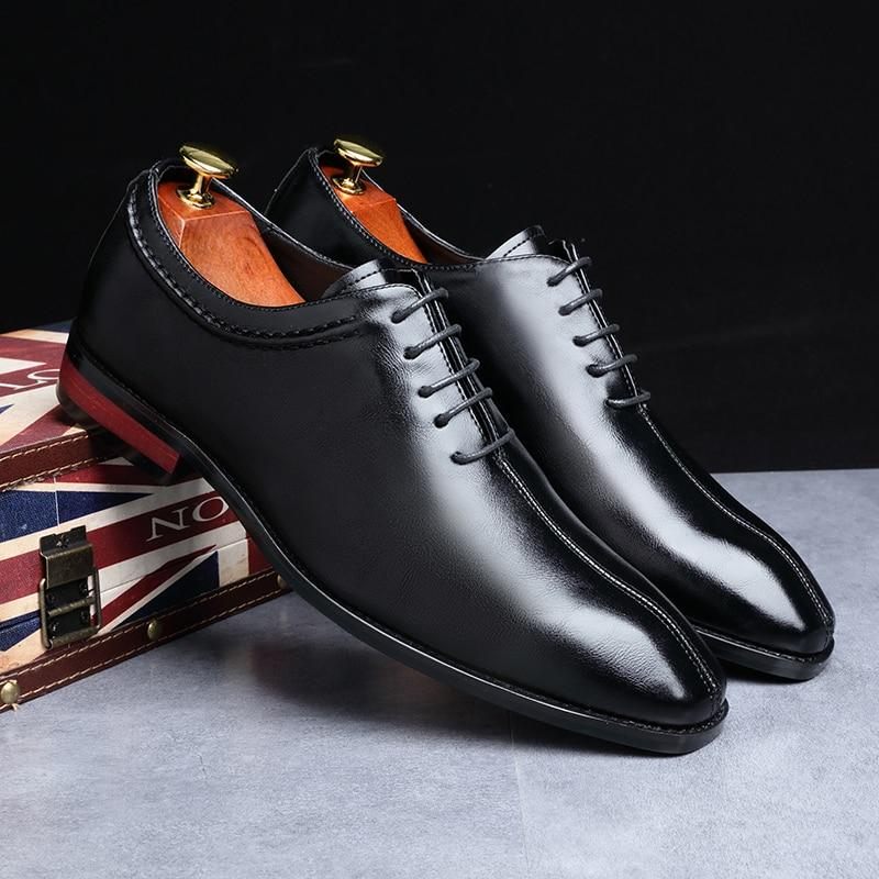 New Classic Leather Men's Business Formal  Shoes